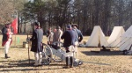 Canon practice at Cowpens