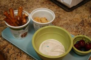 McB's snack tray