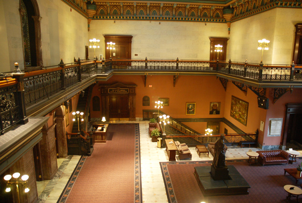 South Carolina State House interior