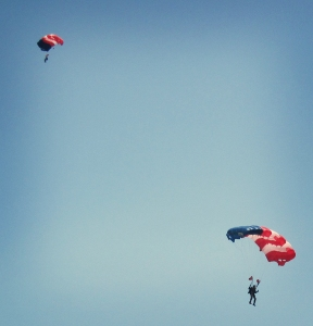 parachutes at gallabrae