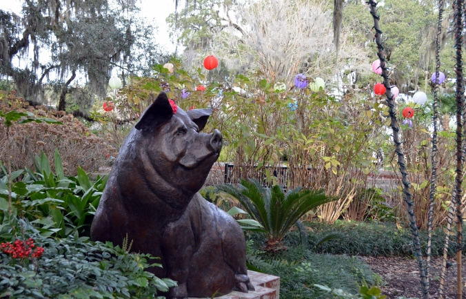 children's garden at brookgreen