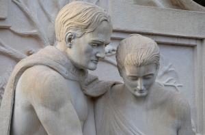 Archer and Anna Hyatt Huntington statue