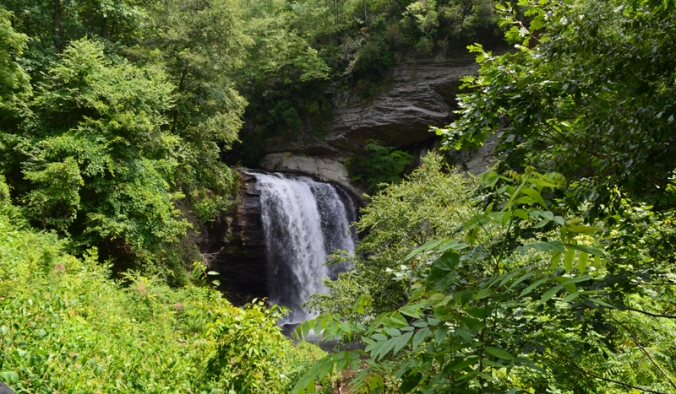 Pisgah National FOrest Looking Glass Falls
