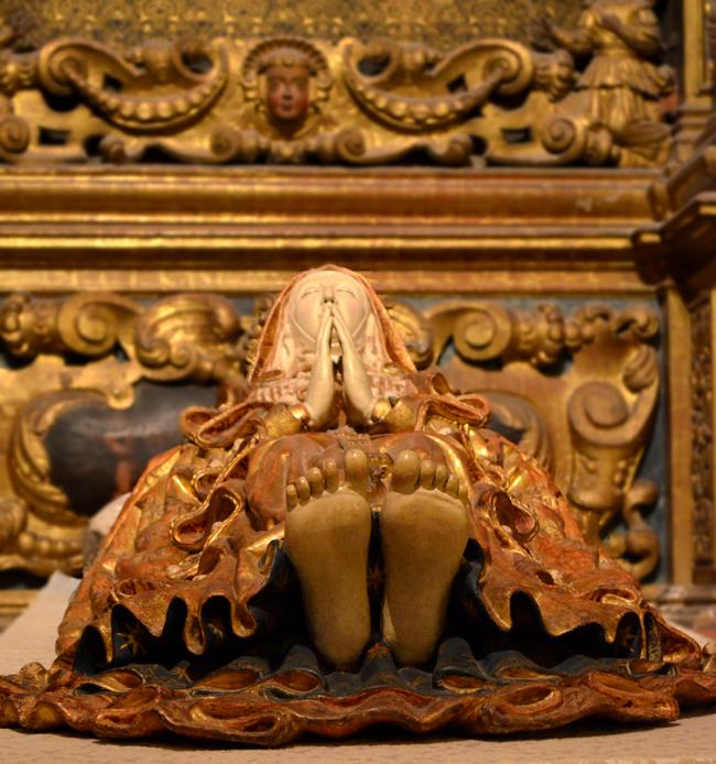 palma cathedral llit de la mare de deu morta