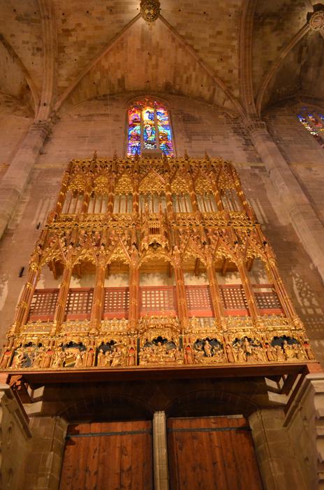 la seu cathedral palma gothic altar