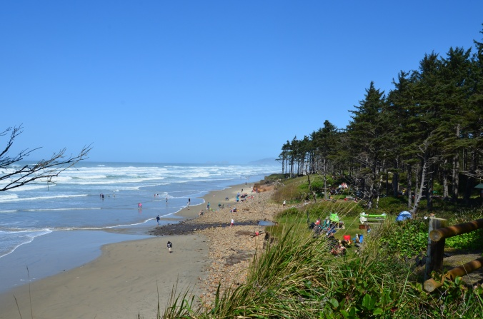 Cape Lookout Crowds